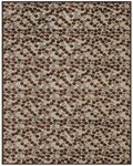 Feizy Saphir 3780F Ivory/Chocolate Closeout Area Rug