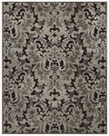 Feizy Saphir 3788F Black/Silver Closeout Area Rug