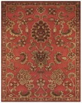 Feizy Saphir 3792F Red Closeout Area Rug