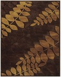 Feizy Saphir 3793F Coffee Closeout Area Rug