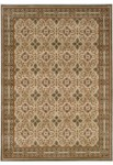 Couristan Everest 3796/5908 Acanthus Scroll Panel Sage Closeout Area Rug - Spring 2011