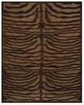 Feizy Saphir 3796F Coffee Closeout Area Rug