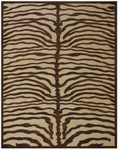 Feizy Saphir 3796F Ivory/Chocolate Closeout Area Rug