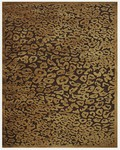 Feizy Saphir 3797F Dark Chocolate Closeout Area Rug