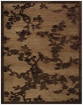Feizy Saphir 3798F Coffee Closeout Area Rug