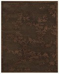 Feizy Saphir 3798F Dark Chocolate Closeout Area Rug