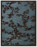 Feizy Saphir 3798F Steel Closeout Area Rug