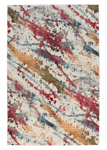 Capel Fuego 3814-675 Splatter Cream Multi Area Rug