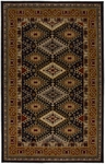 Karastan Crossroads 38260-15104 Addison Black Closeout Area Rug