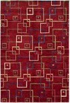HRI Tibetan AR-383 Red Closeout Area Rug