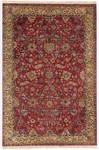 Couristan Royal Imperial 3900/0010 Polonaise Brick Red Closeout Area Rug