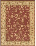 Feizy Wilshire 3996F Crimson/Latte Closeout Area Rug