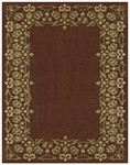 Feizy Wilshire 39A4F Burgundy Closeout Area Rug