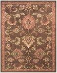 Feizy Wilshire 39A5F Brown Closeout Area Rug