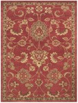 Feizy Wilshire 39A5F Red Closeout Area Rug