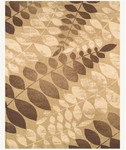 Feizy Hudson 39A8F Fawn/Chocolate Closeout Area Rug