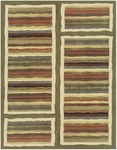Feizy Horizon 39EDF Green/Multi Closeout Area Rug