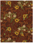 Shaw Living Loft Chandy 02800 Brick Closeout Area Rug - 2014