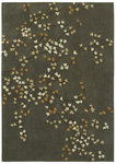 Shaw Living Loft Winter Bloom 05510 Grey Closeout Area Rug - 2014
