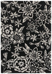 Shaw Living Loft Lillian 15500 Black Closeout Area Rug - 2014