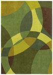 Shaw Living Loft Nightlife 14300 Green Closeout Area Rug - 2014