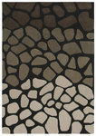 Shaw Living Loft Stone Walk 16500 Black Closeout Area Rug - 2014