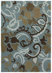 Shaw Living Loft Johari 00400 Blue Closeout Area Rug - 2014