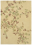 Shaw Living Loft Winter Bloom 05100 Beige Closeout Area Rug - 2014