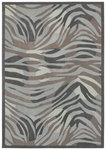 Shaw Living Loft Midnight Savanna 09510 Grey Closeout Area Rug - 2014
