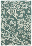 Shaw Living Loft Lillian 15310 Teal Closeout Area Rug - 2014