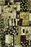 Shaw Living Modern Elements Modern Art 10440 Multi Closeout Area Rug - 2014