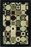 Shaw Living Modern Elements Tribeca 15500 Black Closeout Area Rug - 2014