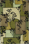 Shaw Living Modern Elements Mission 18440 Multi Closeout Area Rug - 2014