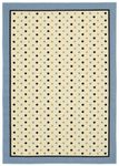 Shaw Kathy Ireland Home Young Attitudes Madison Boy 00101 Blue Closeout Area Rug