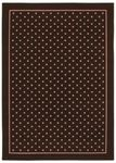 Shaw Kathy Ireland Home Young Attitudes Carnival Bloom 00103 Chocolate Closeout Area Rug