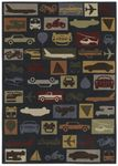 Shaw Kathy Ireland Home Young Attitudes Destinations 21400 Multi Closeout Area Rug