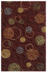 Shaw Living Centre Street Hemisphere 03800 Red Closeout Area Rug - 2014