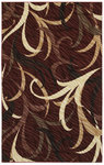 Shaw Living Centre Street Karma 13800 Red Closeout Area Rug - 2014