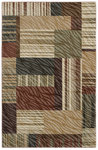 Shaw Living Centre Street Bookshop 01110 Light Multi Closeout Area Rug - 2014