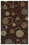 Shaw Living Centre Street Hemisphere 03700 Brown Closeout Area Rug - 2014