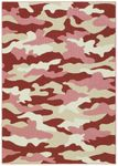Shaw Kathy Ireland Home Young Attitudes Urban Jungle 17840 Lip Gloss Closeout Area Rug