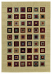Shaw Living Impressions Grid Block 04440 Multi Closeout Area Rug - 2014