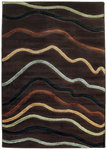 Shaw Living Impressions Jet Stream 06700 Brown Closeout Area Rug - 2014