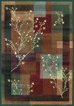 Shaw Living Impressions Painted Willow 09440 Multi Closeout Area Rug - 2014