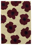 Shaw Living Impressions Red Poppy 10100 Beige Closeout Area Rug - 2014