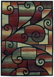 Shaw Living Impressions Sunburst 14440 Multi Closeout Area Rug - 2014