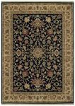 Shaw Kathy Ireland Home International First Lady Royal Countryside 12500 Black Closeout Area Rug - Spring 2013