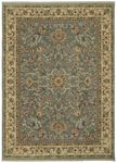 Shaw Kathy Ireland Home International First Lady Royal Countryside 12600 Blue Closeout Area Rug - Spring 2013