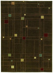 Shaw Living Origins City Streets 05700 Earthen Brown Closeout Area Rug - 2014