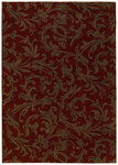 Shaw Living Origins Diva 06800 Cayenne Red Closeout Area Rug - 2014